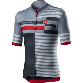 Castelli Mid Weight Pro SS Jersey Men vortex grey